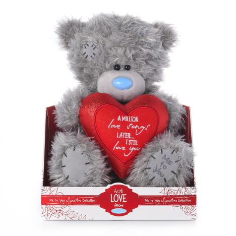 "9"" Million Love Songs Heart Me to You Bear  £19.00"
