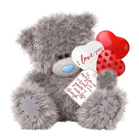 "12"" Holding Love You Balloons Me to You Bear  £30.00"