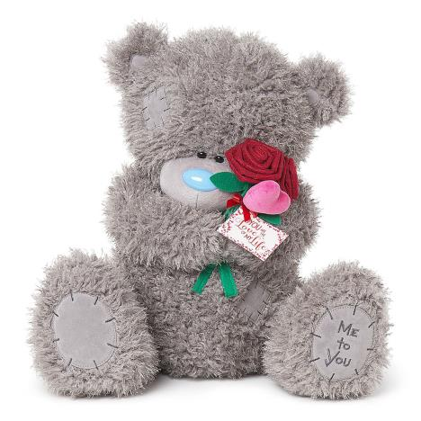 "24"" Love Of My Life Holding Rose Me To You Bear  £49.99"