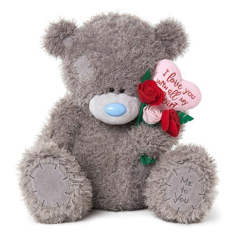 "24"" Padded Heart & Bouquet Me to You Bear  £49.99"