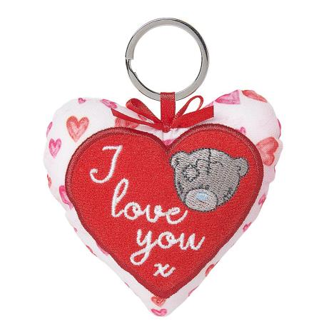 I Love You Padded Heart Me to You Bear Key Ring  £3.99
