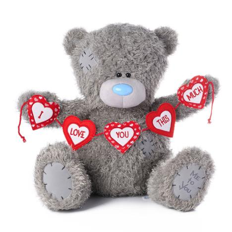 "20"" I Love You This Much Bunting Me to You Bear  £39.99"