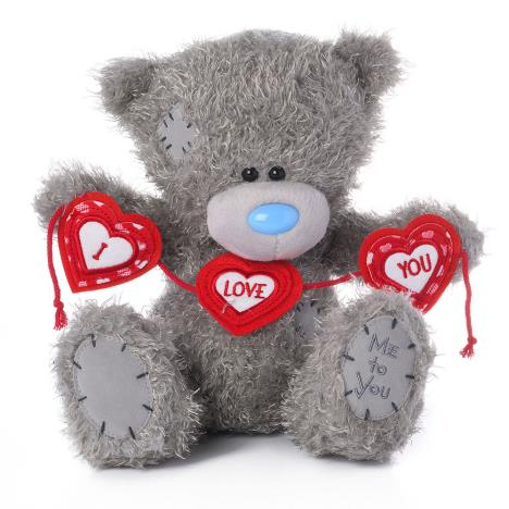 "10"" I Love You Heart Bunting Me to You Bear  £19.99"