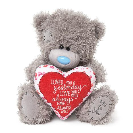 "10"" Love Verse Padded Heart Me to You Bear  £19.99"