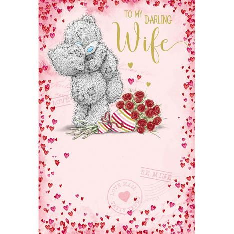My Darling Wife Me to You Bear Valentines Day Card  £3.59