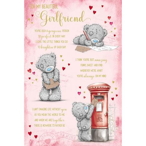 Beautiful Girlfriend Poem Me to You Bear Valentines Day Card  £3.59