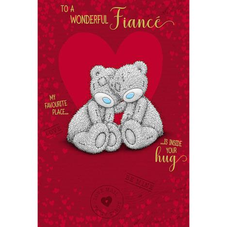 Wonderful Fiance Me to You Bear Valentines Day Card  £3.59