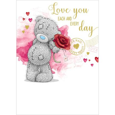 Love You Me to You Bear Valentines Day Card  £1.79
