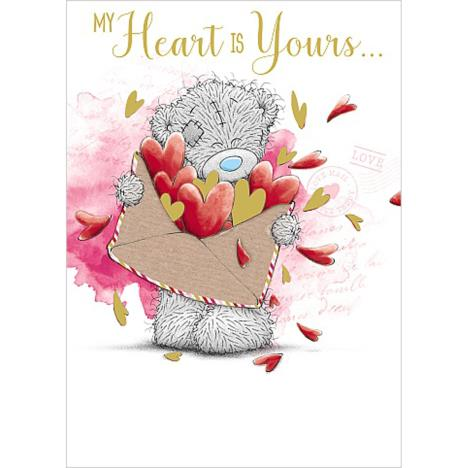My Heart Is Yours Me to You Bear Valentines Day Card  £1.79