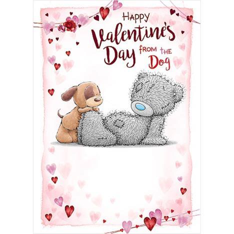 From The Dog Me to You Bear Valentine
