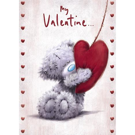 Bear Hugging Heart Me to You Bear Valentine