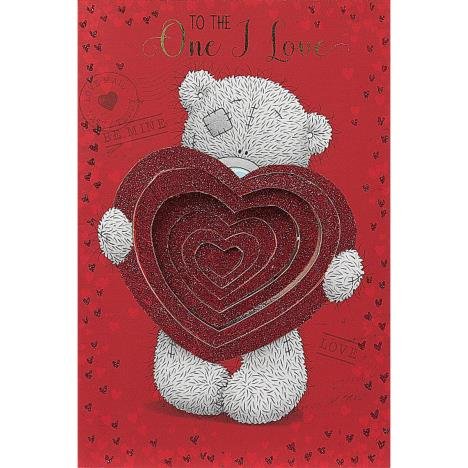 One I Love Pop Up Heart Me to You Bear Valentines Day Card  £3.59