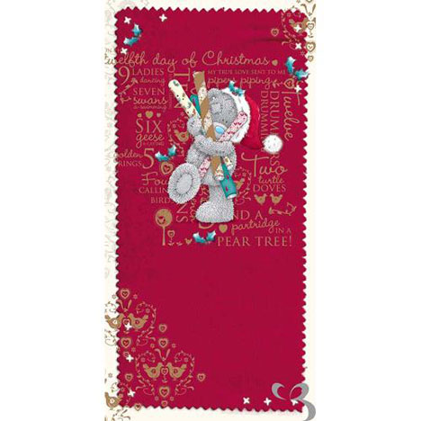 Twelve Days of Christmas Me to You Bear Money Wallet  £1.79