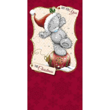 Just For You Bear On Bauble Me to You Bear Christmas Money Wallet  £1.79