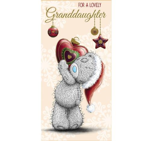 Granddaughter Me to You Bear Christmas Money Wallet  £1.79