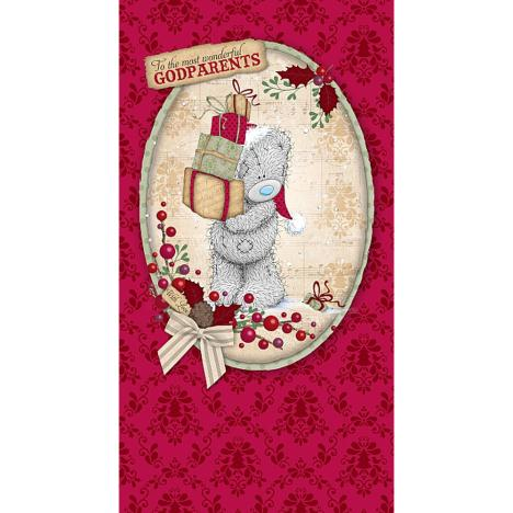Wonderful Godparents Me to You Bear Christmas Card  £2.19