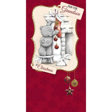 From Your Grandson Me to You Bear Christmas Card  £2.19