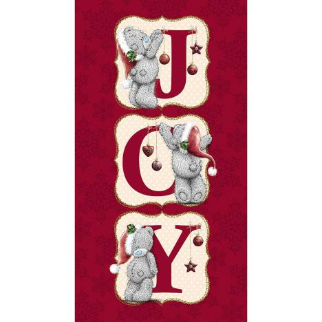 JOY Letters Me to You Bear Christmas Card  £2.19