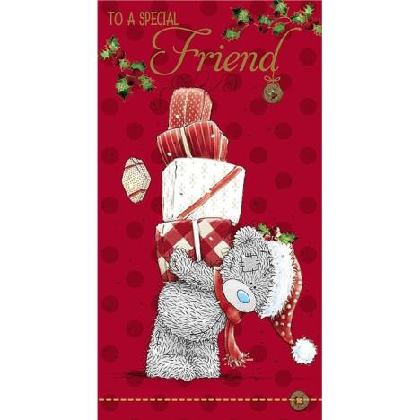 Special Friend Me to You Bear Christmas Card  £2.19