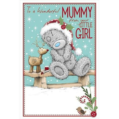 Wonderful Mummy From Your Little Girl Me to You Bear Christmas Card  £2.09