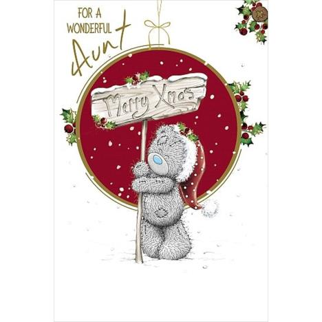Wonderful Aunt Me to You Bear Christmas Card  £3.59