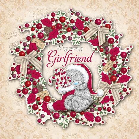 Girlfriend Me to You Bear Large Luxury Boxed Christmas Card  £14.99