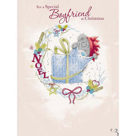 Boyfriend at Christmas Me to You Bear Large Card  £3.59