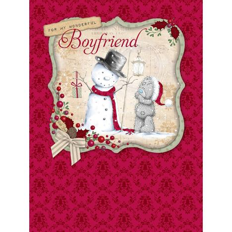 Wonderful Boyfriend Large Me to You Bear Christmas Card  £3.59