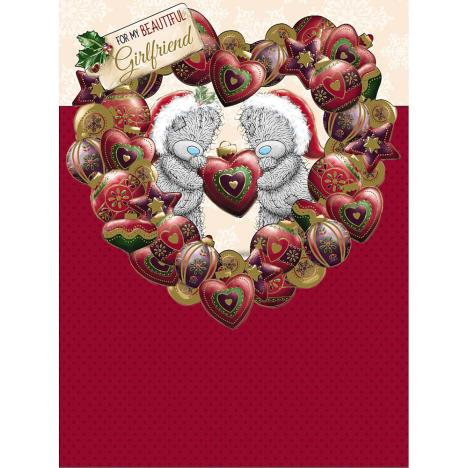 Beautiful Girlfriend  Me to You Bear Large Christmas Card  £3.59