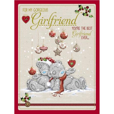 Gorgeous Girlfriend Large Me to You Bear Christmas Card  £3.59