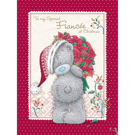 Fiancee Me to You Bear Luxury Christmas Boxed Card   £9.99