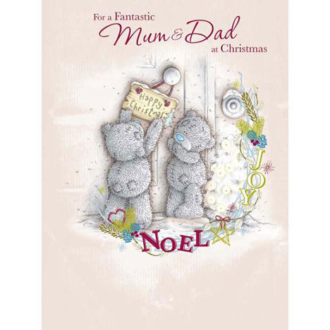 Mum & Dad at Christmas Me to You Bear Large Card  £3.99