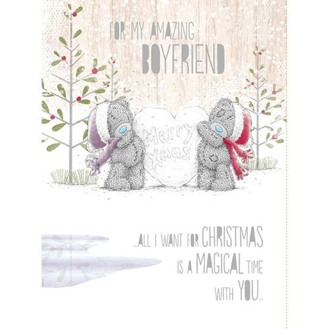 Boyfriend Me to You Bear Boxed Christmas Card  £9.99