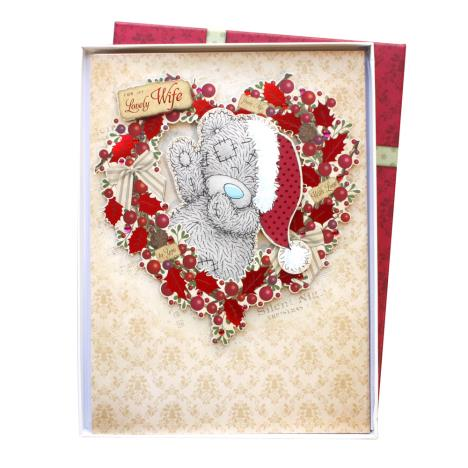 Lovely Wife Me to You Bear Luxury Boxed Christmas Card  £9.99