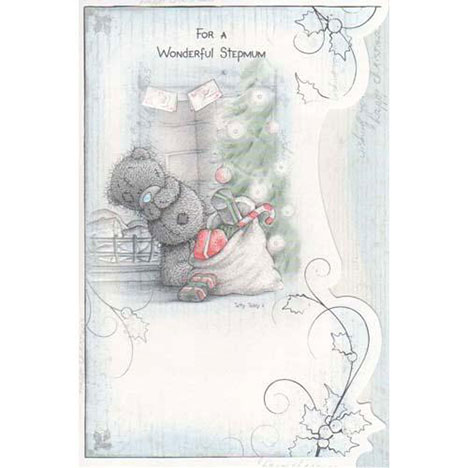 Wonderful Stepmum Me to You Bear Christmas Card  £2.40