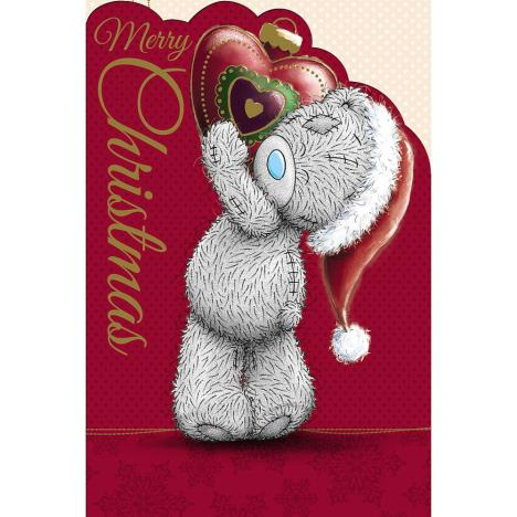 Tatty Teddy With Bauble Heart Me to You Bear Christmas Card  £2.49