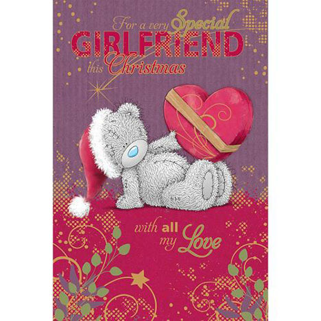 Girlfriend Me to You Bear Christmas Card  £3.59