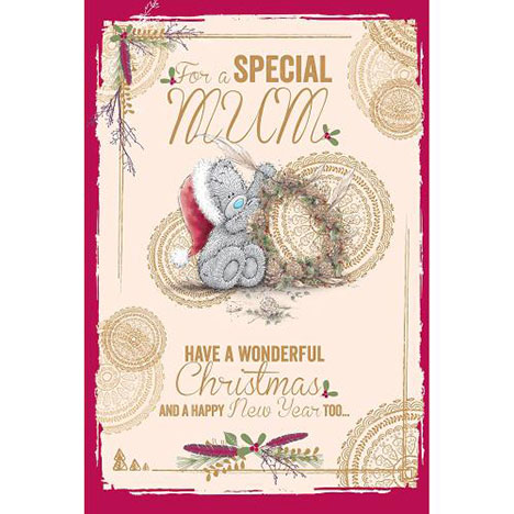 Mum Me to You Bear Christmas Card  £3.59