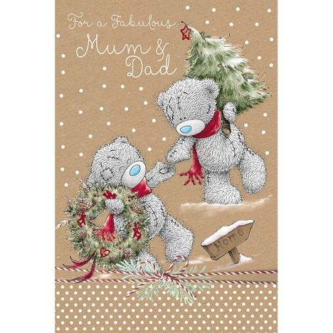Fabulous Mum & Dad Me to You Bear Christmas Card  £3.59