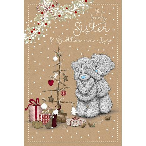 Sister & Brother-in-Law Me to You Bear Christmas Card   £3.59