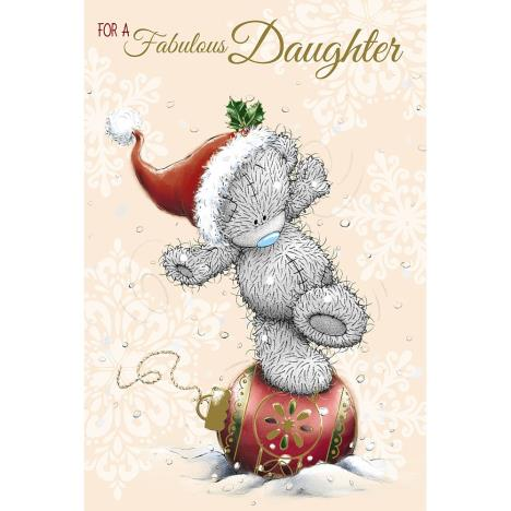 Fabulous Daughter Me to You Bear Christmas Card  £3.59