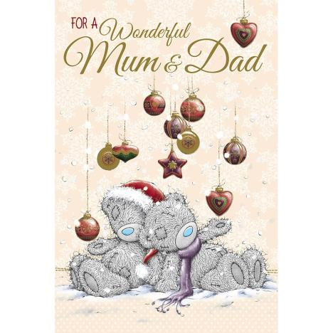 Wonderful Mum And Dad Me to You Bear Christmas Card  £3.59
