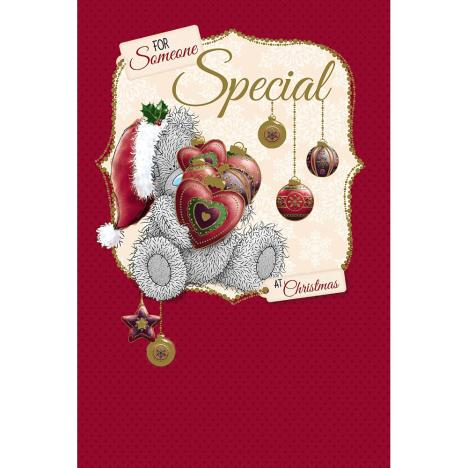 Someone Special Me to You Bear Christmas Card  £3.59