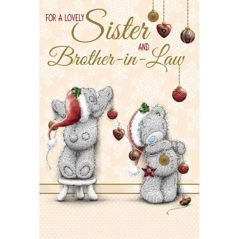 Sister And Brother In Law Me to You Bear Christmas Card  £3.59