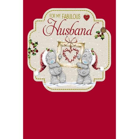 Fabulous Husband Me to You Bear Christmas Card  £3.59