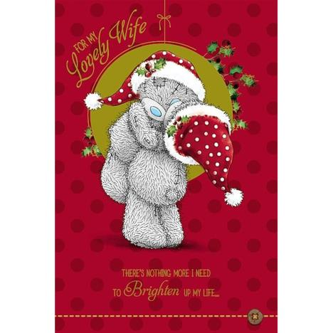 Lovely Wife Me to You Bear Christmas Card  £3.59