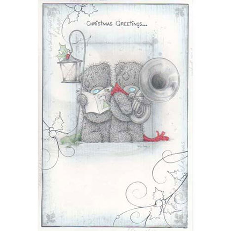 Christmas Greeting Me to You Bear Christmas Card  £2.40