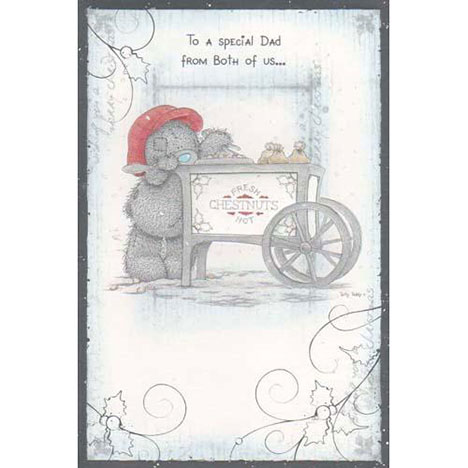 Dad from Both of Us Me to You Bear Christmas Card  £2.40