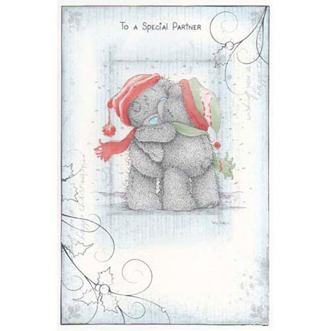 Special Partner Me to You Bear Christmas Card  £2.40