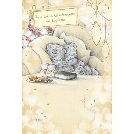 Special Grandaughter & Boyfriend Me to You Bear Christmas Card  £2.40